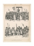 Procession of the Pope Giclee Print