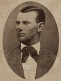 Portrait of the Outlaw Jesse James (1847-1882) Photographic Print