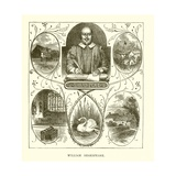 William Shakspeare Giclee Print