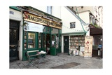 Shakespeare and Co Bookshop in Paris France Lámina giclée