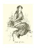 Joan of Arc Giclee Print by Gordon Frederick Browne
