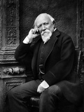 Robert Browning, 1888 Photographic Print by Herbert Rose Barraud