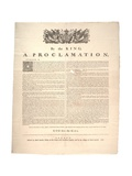 A Proclamation, 1763 Giclee Print