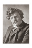 Gilbert Keith Chesterton, 1874 – 1936. English Writer. from the Wonderful Year 1909 Giclee Print