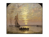 At Sunset, C.1875 Giclee Print by Isaac Walter Jenner