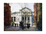 The New York Library Giclee Print by Paul Cornoyer