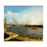 The Thames from Richmond House, 1746 Giclee Print by  Canaletto