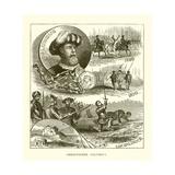 Cristobal Colón Lámina giclée
