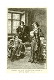 Lady Jane Grey Giclee Print by Gordon Frederick Browne