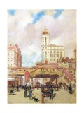 Third Avenue, New York Giclee Print by Paul Cornoyer