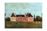 Château De Rosny, 1840 Giclee Print by Jean-Baptiste-Camille Corot