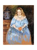 Margaret Milligan Sloan, 1893 Giclee Print by Mary Stevenson Cassatt