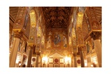 The Cappella Palatina at the Palazzo Reale in Palermo Sicily Giclee Print