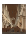 The Church of Saint Bavo in Haarlem Giclee Print by Isaac van Nickele
