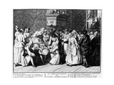 Circumcision Ceremony Among Portuguese Jews, 1725 Giclee Print by Bernard Picart