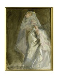 The Bride, C.1880 Giclee Print by Edward John Gregory