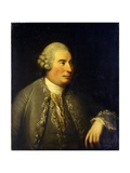 Portrait of David Hume Giclee Print by David Martin