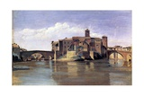 The Island of San Bartolomeo, 1826-28 Giclee Print by Jean-Baptiste-Camille Corot
