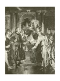 Merchant of Venice. Act Iv-Scene I Giclee Print by Felix Octavius Carr Darley