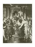 Merchant of Venice. Act Iv-Scene I Giclee Print by Felix Octavius Carr Darley