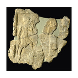 Rock Relief of Iddin-Sin, King of Simurrum, Zagros Mountains, North-Eastern Iraq, C.2000 BC Giclee Print