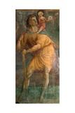 Der Heilige Christophorus Giclée-Druck von Tommaso Masaccio