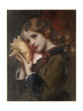 The Sound of the Sea, 1879 Giclee Print by Karl Gussow