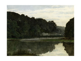 Landscape with Heron, 1868 Giclee Print by William Frederick Yeames