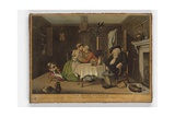 The Quiet Husband, Print Made by John June, C.1768 Giclee Print by John Collet