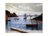 The Port, Island of Brehat, Brittany, 1892 Giclee Print by Maxime Emile Louis Maufra
