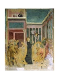 Saint Catherine Rescued by an Angel Giclee Print by Tommaso Masolino Da Panicale