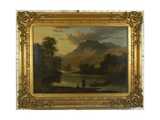 Loughrigg and the River Brathay, C.1807 Giclee Print by Ramsay Richard Reinagle