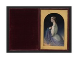 Portrait of Dora Quillinan, 1839 Giclee Print by Margaret Gillies