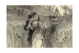 Comin' Through the Rye, 1870 Giclee Print by William Bell Scott
