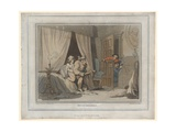 House Breakers, Print Made by Thomas Molten, 1791 Giclee Print by Thomas Rowlandson