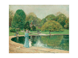 Central Park Giclee Print by Childe Hassam