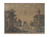 Ruins of Rome, 1780s Giclee Print