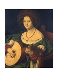 Lady with a Lute, C.1510 Giclee Print by Andrea Solario