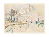 Granville Giclee Print by Paul Signac