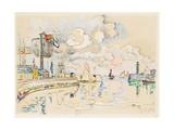Granville Gicléetryck av Paul Signac