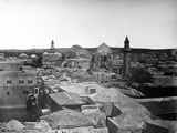 View of the Church of the Holy Sepulchre and Pool of Hezekiah, Jerusalem, 1857 Photographic Print by  James Robertson and Felice Beato