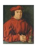 Portrait of Bernardo Clesio Giclee Print by Bartholomaeus Bruyn
