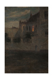 House by the Water Giclee Print by Henri Duhem