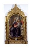 Madonna of Tarquinia, 1437 Giclée-tryk af Fra Filippo Lippi