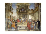 The Dispute of St Thomas, Carafa Chapel, Santa Maria Sopra Minerva, Rome, 1488-93 Giclee Print by Filippino Lippi