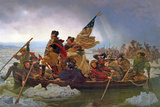 Washington Crossing the Delaware River, 25th December 1776, 1851 (Copy of an Original Painted in… Giclee Print by Emanuel Leutze