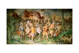 Charles V Against the Lutherans Giclee Print by Taddeo Zuccari