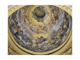 Glory of Paradise, 1627 Giclee Print by Giovanni Lanfranco