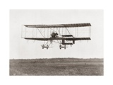 Henri Farman Winning the Grand Prix of Two Thousand Pounds for the Longest Flight of 112 Miles in… Giclee Print