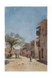 The Ouled Nail Quarter, Biskra, April 1889 Giclee Print by Henri Duhem